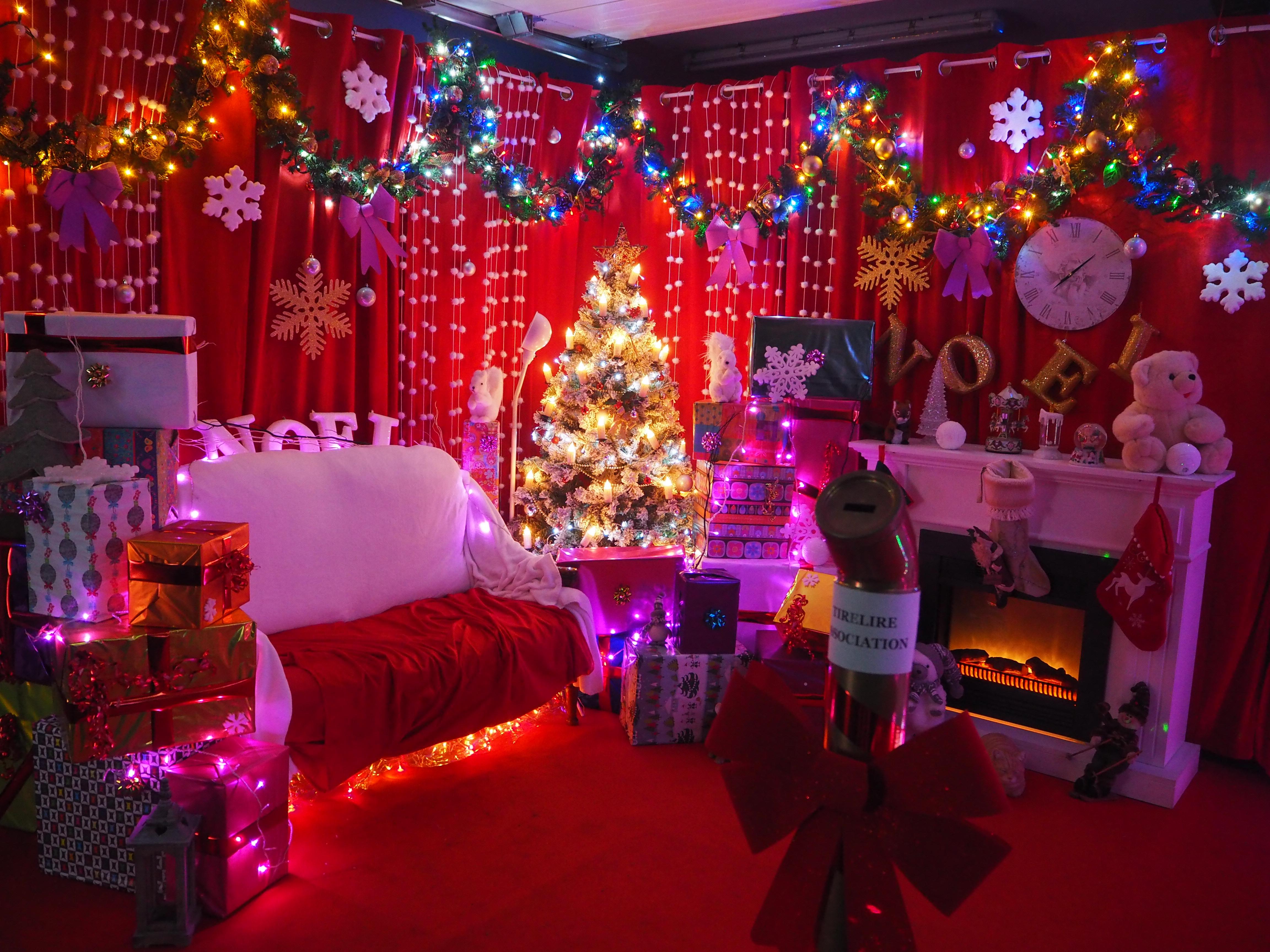 L'antre du Père Noël